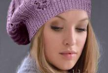 Модные модели 2017. Вязаная шапка спицами схемы с описанием
